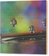 Abstract 021 Wood Print