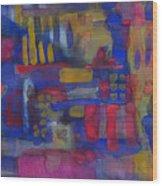 Abstract 03 Wood Print