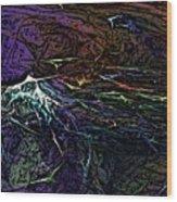 Abstract 030211 Wood Print