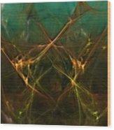 Abstract 031211 Wood Print