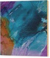 Abstract 034 Wood Print