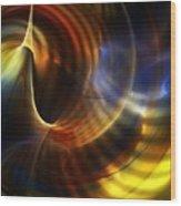 Abstract 040511 Wood Print