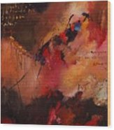 Abstract 0408 Wood Print