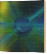 Abstract 041111 Wood Print