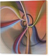Abstract 0414111 Wood Print