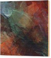 Abstract 042211 Wood Print