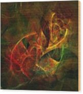 Abstract 051011 Wood Print