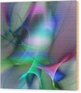 Abstract 053010 Wood Print
