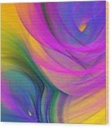 Abstract 060611b Wood Print
