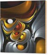 Abstract 061010 Wood Print