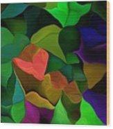 Abstract 063016 Wood Print