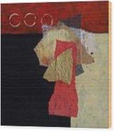 Abstract 070 Wood Print