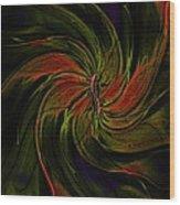 Abstract 070810a Wood Print