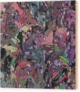 Abstract 070915 Wood Print