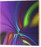 Abstract 080610a Wood Print