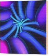 Abstract 080610b Wood Print