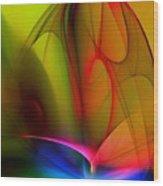 Abstract 082910 Wood Print