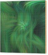 Abstract 0902 G Wood Print