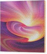 Abstract 0902 I Wood Print