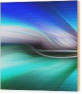 Abstract 0902 M Wood Print