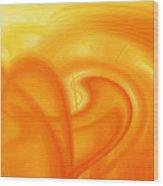 Abstract 0902 Q  Wood Print