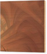 Abstract 0902 T Wood Print