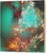 Abstract 090710b Wood Print