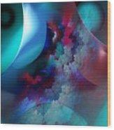 Abstract 0971711 Wood Print