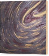 Abstract 100 Wood Print