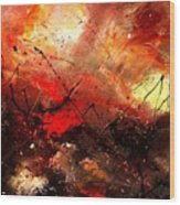 Abstract 100202 Wood Print
