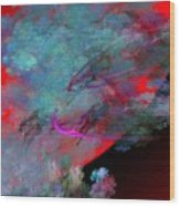 Abstract 102210 Wood Print