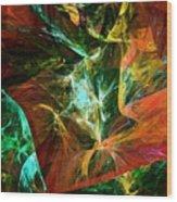 Abstract 110810 Wood Print