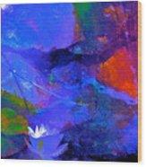 Abstract 112 Wood Print