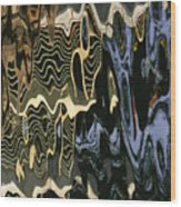 Abstract 13 Wood Print