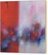 Abstract Painting 137 Wood Print