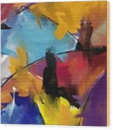 Abstract 1412 Wood Print