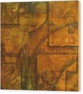 Abstract 18 Wood Print