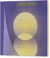 Abstract 27 Wood Print