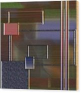 Abstract 2964 Wood Print