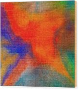 Abstract 3 Wood Print