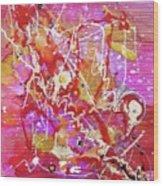 Abstract 304 Wood Print