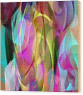 Abstract 3366 Wood Print