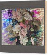 Abstract 340 Wood Print
