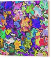 Abstract 369 Wood Print
