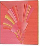 Abstract 386 Wood Print