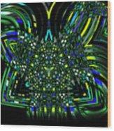 Abstract 401 Wood Print