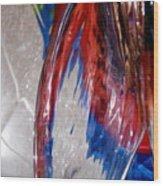 Abstract 419 Wood Print