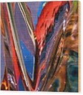 Abstract 426 Wood Print