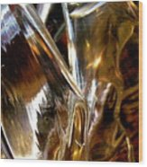 Abstract 438 Wood Print