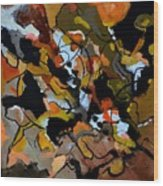 Abstract 446190 Wood Print